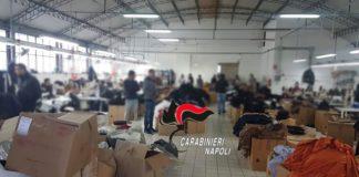 Maxi Blitz dei Carabinieri contro il lavoro nero: trovata una 16enne in fabbrica tessile