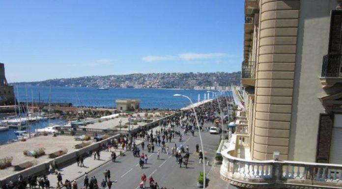 Napoli, sta per partire un nuovo cantiere sul Lungomare: possibile caos traffico