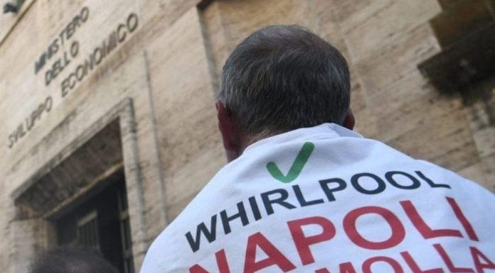Chiusura stabilimento Whirlpool di Napoli: proclamato sciopero unitario di 16 ore