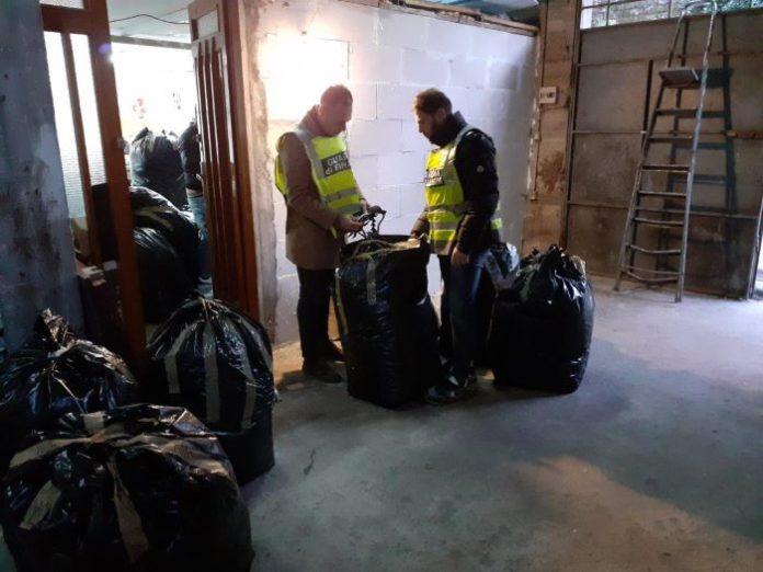 Lusciano, opificio abusivo: 28enne denunciato per smaltimento illecito di rifiuti