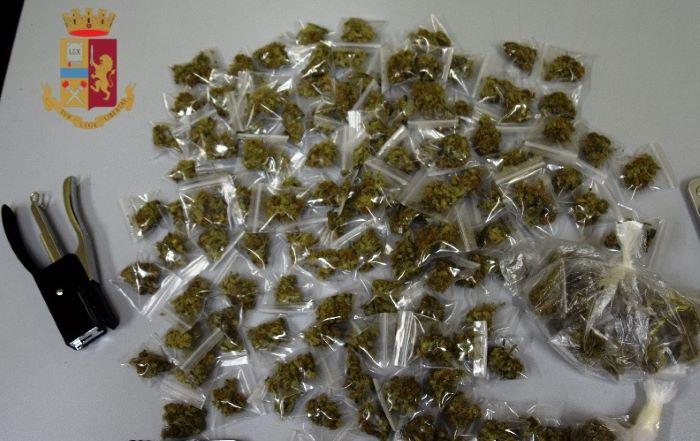 Acerra, Polizia arresta un 36enne per droga: IL NOME