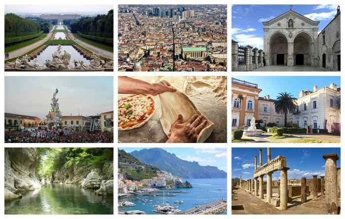 Siti Unesco: la Campania è in testa a classifica mondiale per numero