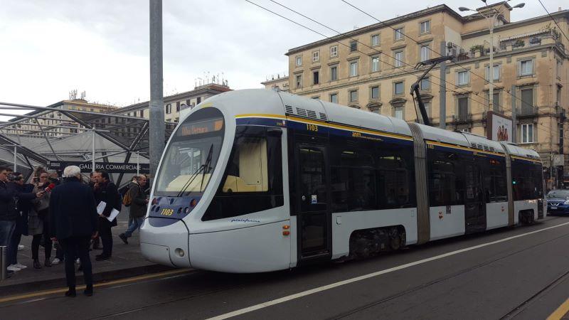 Napoli: ripartita la Linea 1 del tram Poggioreale-Municipio