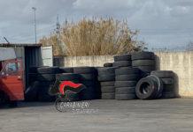 Ponticelli: spedivano pneumatici fuori uso in africa. Denunciate tre persone