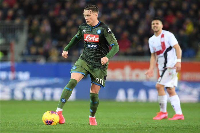 Calcio Napoli, Elmas e Zielinski negativi al Covid-19