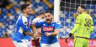Continua la risalita in classifica: il Calcio Napoli batte il Torino 2-1