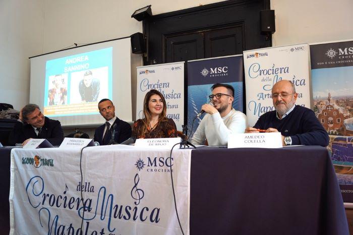 Crociera della Musica Napoletana: dal 5 al 12 ottobre a bordo di MSC Grandiosa