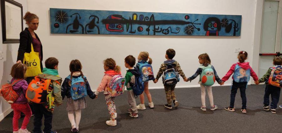 Joan Miró. Il linguaggio dei segni al Pan: ben 50mila visita