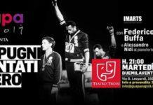 """Federico Buffa al teatro Troisidi Fuorigrotta con lo spettacolo """"Due pugni guantati di nero"""""""