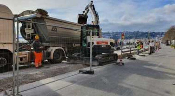 Cantiere sul Lungomare di Napoli: si cerca di chiudere entro questa settimana