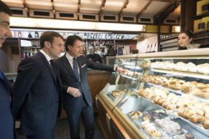 Conte e Macron a Napoli, pace fatta tra Italia e Francia all
