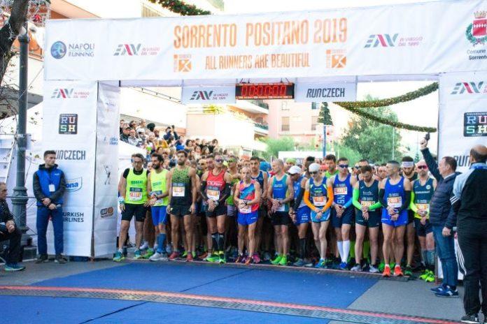Corsa Sorrento-Positano: appuntamento per domenica 6 dicembre