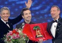 Diodato vince Sanremo davanti a Gabbani e ai Pinguini Tattici Nucleari