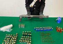 Castellammare di Stabia, controlli al rione Moscarella: trovati un fucile e munizioni