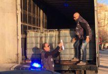 GdF Caserta: sequestrato un camion con 26mila litri di gasolio di contrabbando