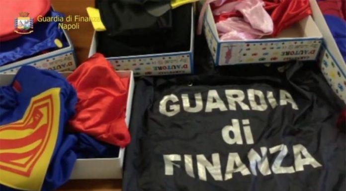 Lotta alla contraffazione: sequestrati ben 300mila articoli falsi e 15 denunce