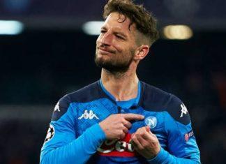 Calcio Napoli, la serata dolceamara di Mertens: record di gol e infortunio
