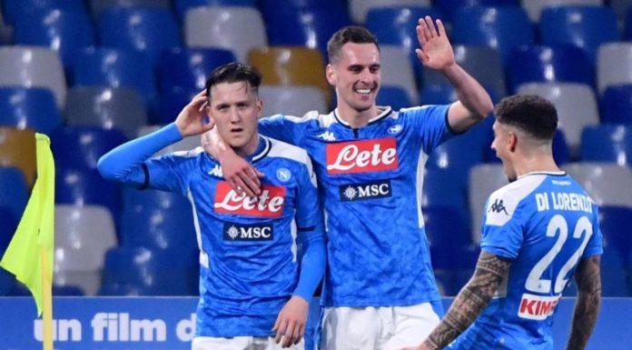 Calcio Napoli primo a tornare in campo: si riparte con la Coppa Italia