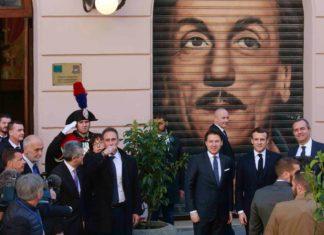Conte e Macron a Napoli, pace fatta tra Italia e Francia