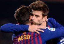 "Napoli-Barcellona, Piquè: ""Preferisco Messi a Maradona"""