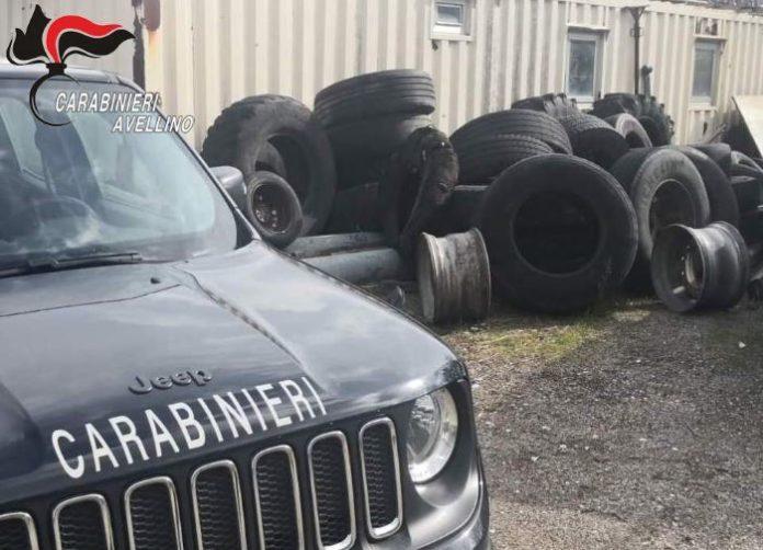 Capriglia Irpina, rifiuti speciali smaltiti in un'area privata: denunciato 60enne