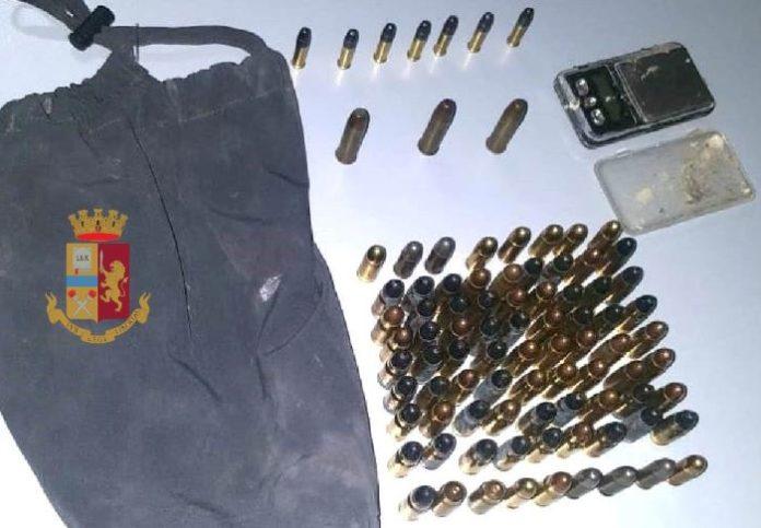 Quartieri Spagnoli: la Polizia scopre e sequestra 90 proiettili