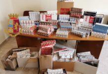 Borgo Sant'Antonio Abate: Polizia sequestra ben 86 kg di sigarette