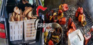 Ponticelli, alimenti venduti senza autorizzazione: sequestri e denunce dei Carabinieri