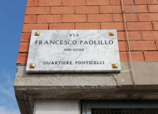 Napoli: a Ponticelli una strada intitolata alla memoria di Francesco Paolillo