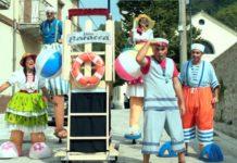 Carnevale ad Edenlandia: arriva la performance Tipi da spiaggia (VIDEO)