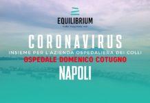 Coronavirus, Equilibrium onlus: 100mila euro per il Cotugno di Napoli