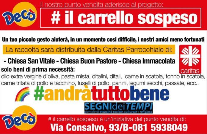 Coronavirus: A Napoli la 'spesa sospesa'. Elenco dei punti vendita