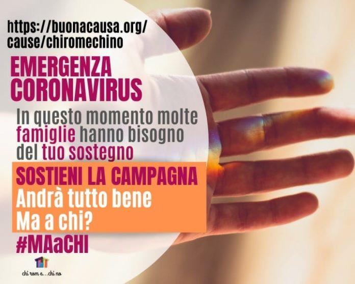 Emergenza coronavirus, una campagna per le famiglie napoletane in difficoltà