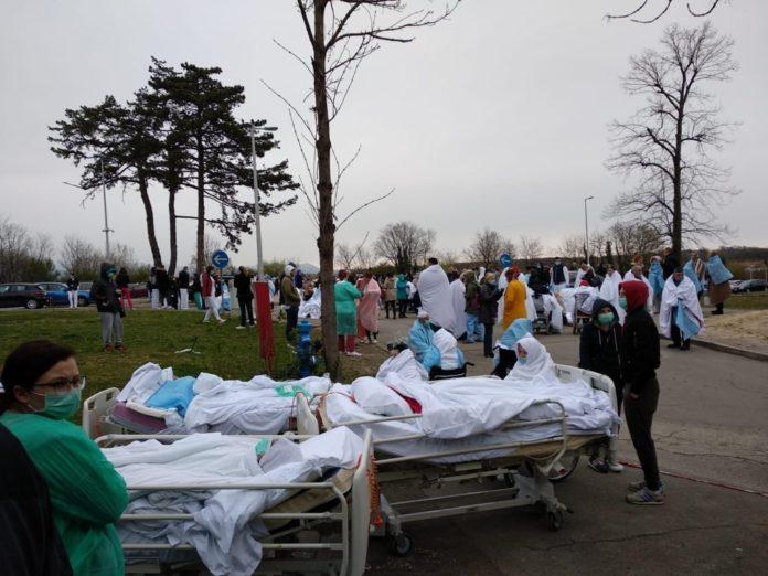 Terremoto a Zagabria, due forti scosse 5.3 e 4.6. Ragazzo ferito da crollo di un palazzo