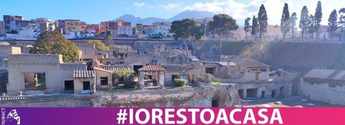#iorestoacasa: Il parco Archeologico di Ercolano entra nelle nostre case