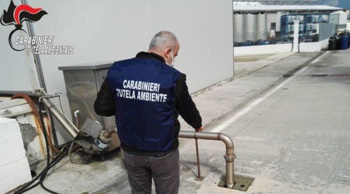Striano, sequestrato un impianto produzione dolciumi: inquinava il Sarno