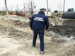 Combustione illecita di rifiuti, una denuncia a Santa Maria la Fossa