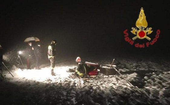 Castelfranci, esce di casa e sprofonda in un pozzo coperto dalla neve