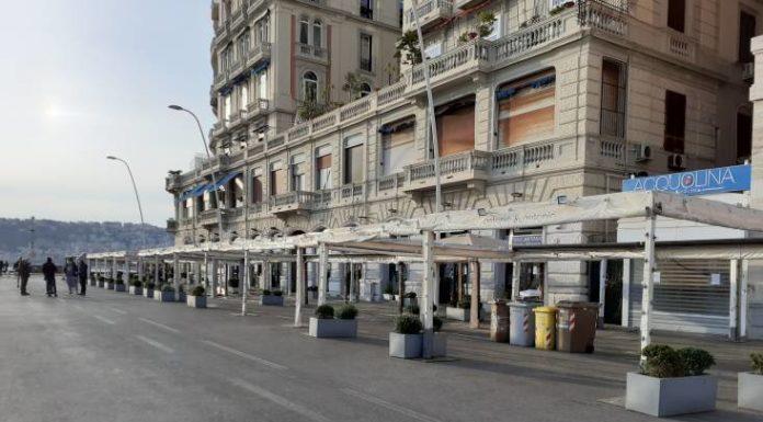 Coronavirus, il primo giorno di una Napoli più vuota