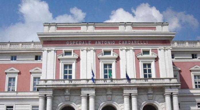 Coronavirus, all'ospedale Cardarelli di Napoli 249 operatori in malattia
