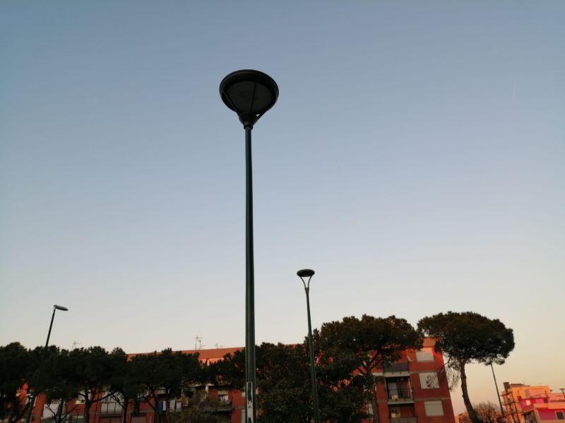 Ponticelli: ripristinato un palo della luce in via Manlio Rossi