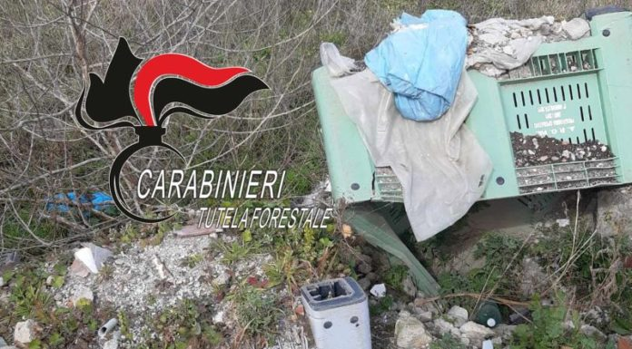 Pomigliano d'Arco: Carabinieri sequestrano discarica abusiva di 35mila mq
