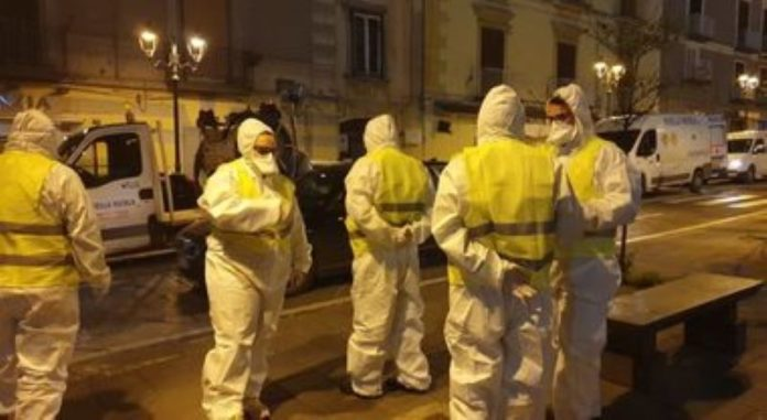 Coronavirus a Napoli: ecco i prossimi interventi di sanificazione delle strade