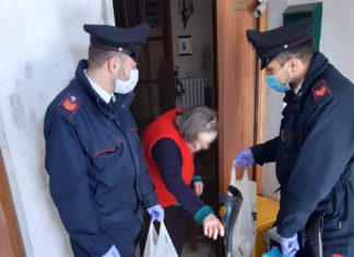 Avellino, Montemiletto: I carabinieri aiutano anziana sola e senza cibo