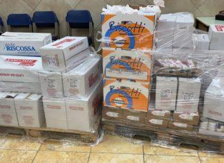 Caivano: pacchi alimentari per le famiglie del Parco Verde e dei malati oncologici