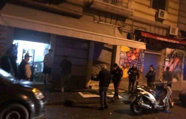 Napoli: bomba carta esplode davanti a un panificio del Vasto