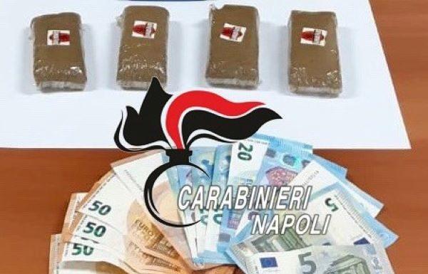 Marano di Napoli, arrestati perché trovati in giro con 4 panetti di hashish: I NOMI