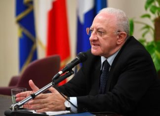 Coronavirus in Campania: De Luca chiede più controlli e maggiore presenza dell'Esercito