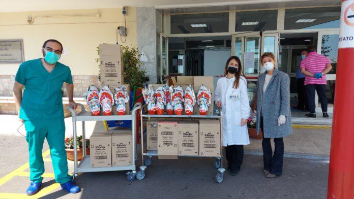 Associazione Filiera Italiana Nautica: 100 uova pasquali ai bimbi del Santobono