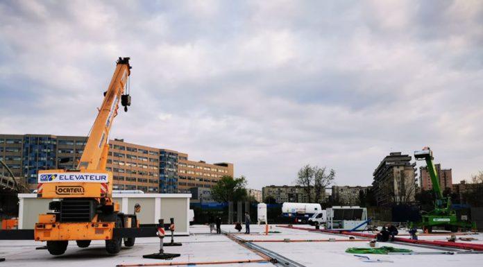 Napoli, nasce un ospedale prefabbricato con 120 posti letto di terapia intensiva